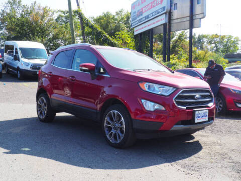 2019 Ford EcoSport for sale at MAPLECREST FORD LINCOLN USED CARS in Vauxhall NJ