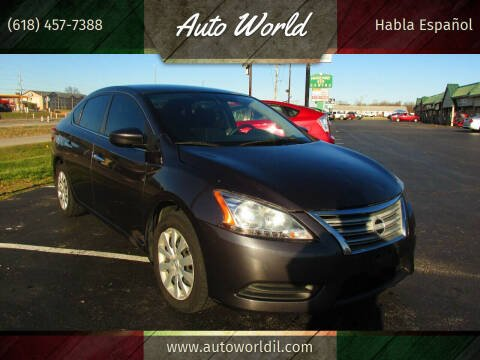 2014 Nissan Sentra for sale at Auto World in Carbondale IL