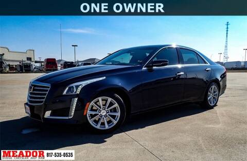 2019 Cadillac CTS for sale at Meador Dodge Chrysler Jeep RAM in Fort Worth TX