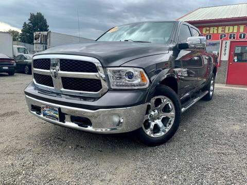 2016 RAM Ram Pickup 1500 for sale at Yaktown Motors in Union Gap WA