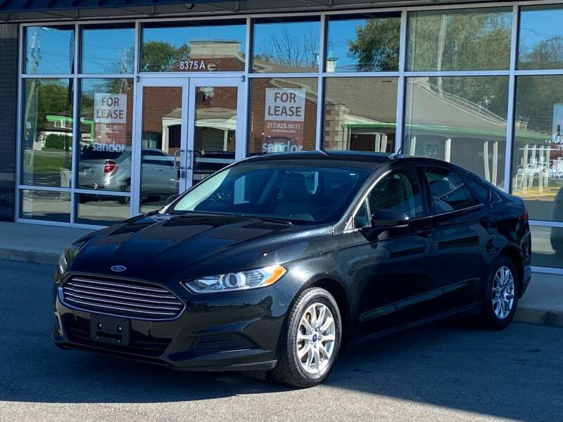 2015 Ford Fusion for sale at Easy Guy Auto Sales in Indianapolis IN