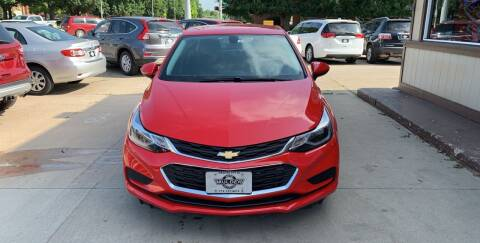 2016 Chevrolet Cruze for sale at Mulder Auto Tire and Lube in Orange City IA