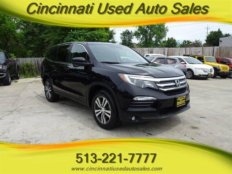 2017 Honda Pilot for sale at Cincinnati Used Auto Sales in Cincinnati OH