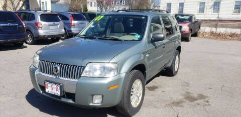 2007 Mercury Mariner for sale at Union Street Auto in Manchester NH