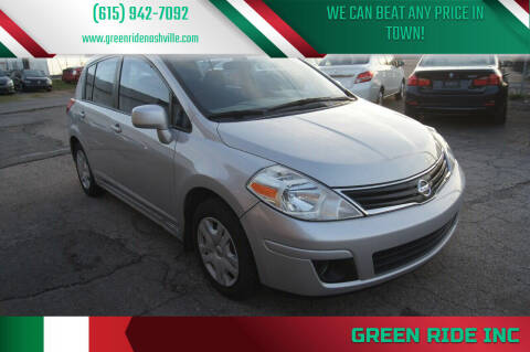 2012 Nissan Versa for sale at Green Ride Inc in Nashville TN