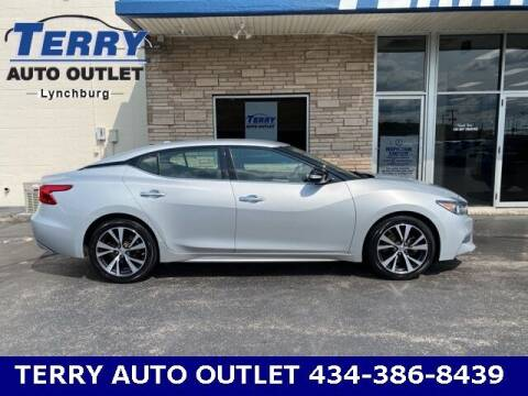 2017 Nissan Maxima for sale at Terry Auto Outlet in Lynchburg VA