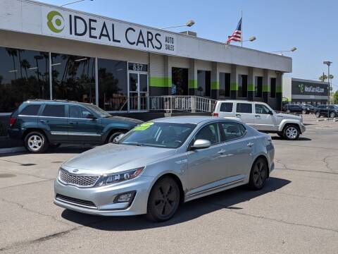 2016 Kia Optima Hybrid for sale at Ideal Cars in Mesa AZ