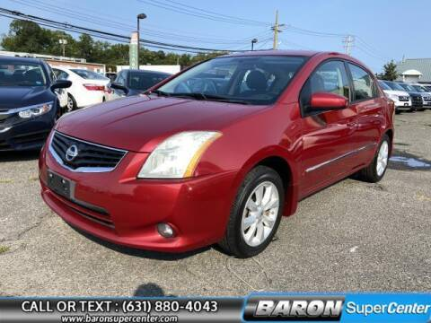 2012 Nissan Sentra for sale at Baron Super Center in Patchogue NY