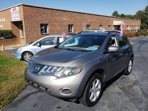 2009 Nissan Murano for sale at ARA Auto Sales in Winston-Salem NC