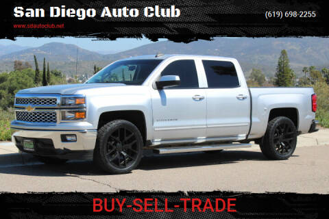 2015 Chevrolet Silverado 1500 for sale at San Diego Auto Club in Spring Valley CA