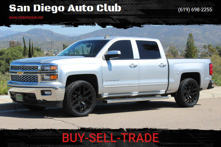 2015 Chevrolet Silverado 1500 for sale at San Diego Auto Club in Spring Valley CA