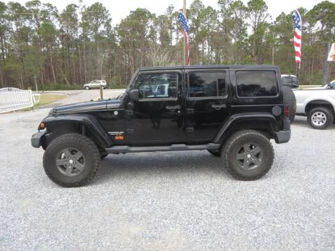 2011 Jeep Wrangler Unlimited for sale at Ward's Motorsports in Pensacola FL