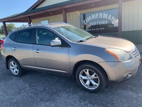 2010 Nissan Rogue for sale at Zimmerman Motors LLC in Wathena KS