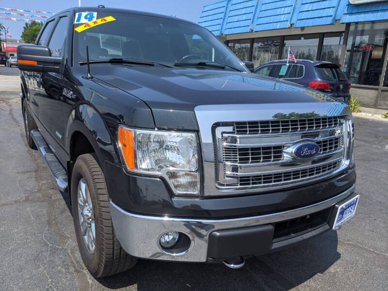 2014 Ford F-150 for sale at GREAT DEALS ON WHEELS in Michigan City IN
