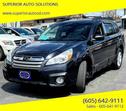 2013 Subaru Outback for sale at SUPERIOR AUTO SOLUTIONS in Spearfish SD