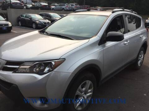 2015 Toyota RAV4 for sale at J & M Automotive in Naugatuck CT