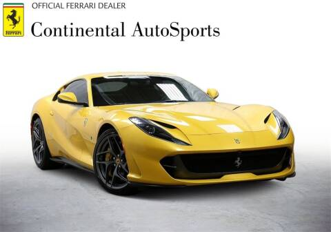 2019 Ferrari 812 Superfast for sale at CONTINENTAL AUTO SPORTS in Hinsdale IL