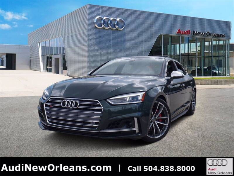 2018 Audi S5 Sportback for sale at Metairie Preowned Superstore in Metairie LA