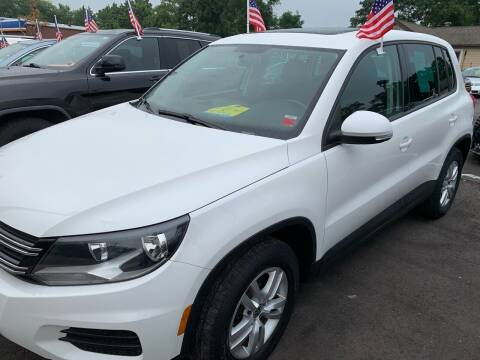 2013 Volkswagen Tiguan for sale at Primary Motors Inc in Commack NY