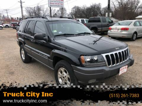 2001 Jeep Grand Cherokee for sale at Truck City Inc in Des Moines IA