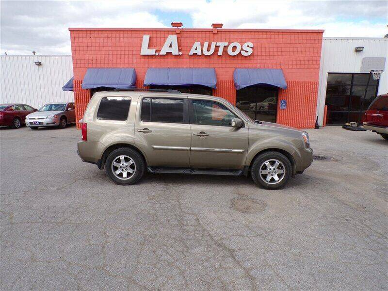 2009 Honda Pilot for sale at L A AUTOS in Omaha NE
