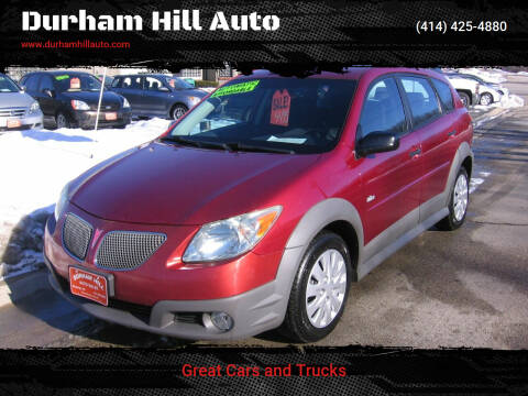 2006 Pontiac Vibe for sale at Durham Hill Auto in Muskego WI