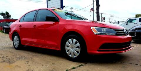 2015 Volkswagen Jetta for sale at AUTO BARGAIN, INC. #2 in Oklahoma City OK