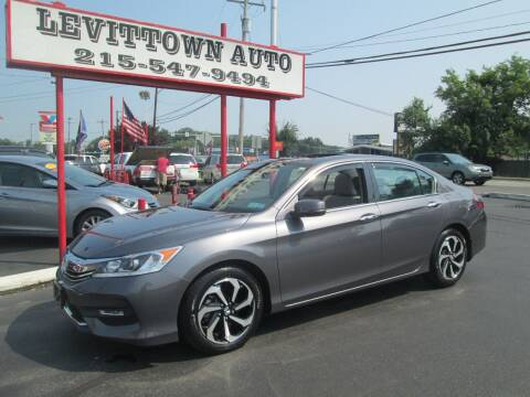2017 Honda Accord for sale at Levittown Auto in Levittown PA