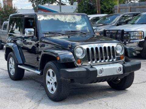 2012 Jeep Wrangler for sale at AWESOME CARS LLC in Austin TX