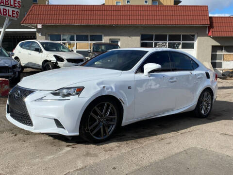 2014 Lexus IS 350 for sale at ELITE MOTOR CARS OF MIAMI in Miami FL