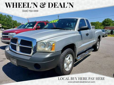 2006 Dodge Dakota for sale at Wheel'n & Deal'n in Lenoir NC