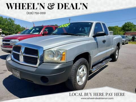 2006 Dodge Dakota for sale at Wheel'n & Deal'n in Lenoir NC