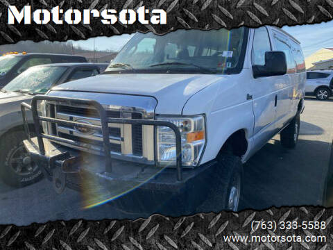 2012 Ford E-350 for sale at Motorsota in Becker MN