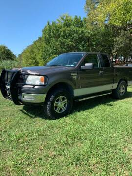 2005 Ford F-150 for sale at BARROW MOTORS in Caddo Mills TX