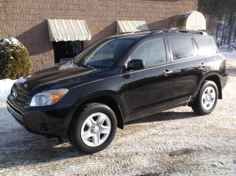2008 Toyota RAV4 for sale at Depot Auto Sales Inc in Palmer MA