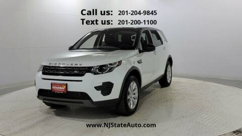 2017 Land Rover Discovery Sport for sale at NJ State Auto Used Cars in Jersey City NJ