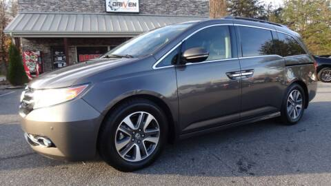 2015 Honda Odyssey for sale at Driven Pre-Owned in Lenoir NC