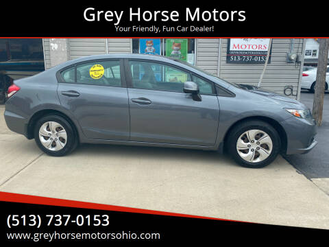 2013 Honda Civic for sale at Grey Horse Motors in Hamilton OH