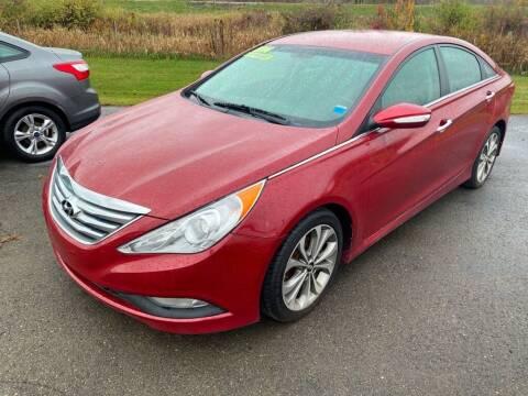 2014 Hyundai Sonata for sale at Hillside Motors in Campbell NY