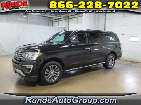 2019 Ford Expedition MAX for sale at Runde PreDriven in Hazel Green WI