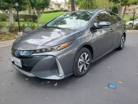 2018 Toyota Prius Prime for sale at E MOTORCARS in Fullerton CA