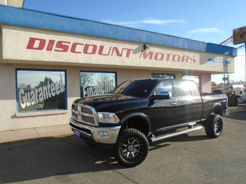 2015 RAM Ram Pickup 2500 for sale at Discount Motors in Pueblo CO