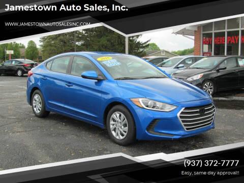 2018 Hyundai Elantra for sale at Jamestown Auto Sales, Inc. in Xenia OH