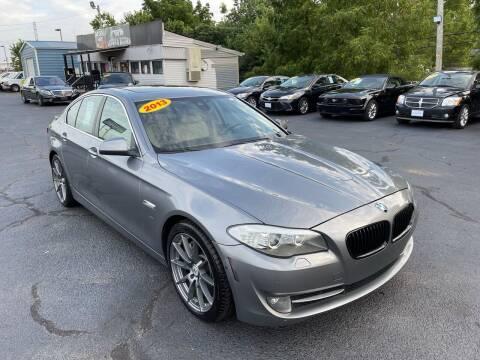 2013 BMW 5 Series for sale at LexTown Motors in Lexington KY