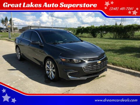 2017 Chevrolet Malibu for sale at Great Lakes Auto Superstore in Waterford Township MI