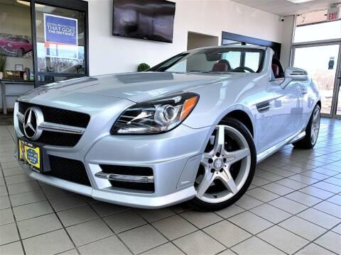 2013 Mercedes-Benz SLK for sale at SAINT CHARLES MOTORCARS in Saint Charles IL