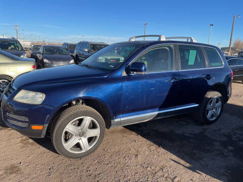 2005 Volkswagen Touareg for sale at PYRAMID MOTORS - Fountain Lot in Fountain CO