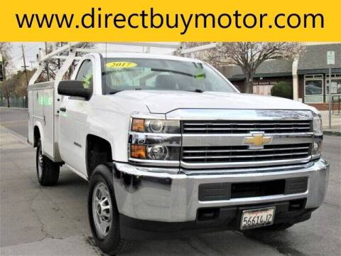 2017 Chevrolet Silverado 2500HD for sale at Direct Buy Motor in San Jose CA