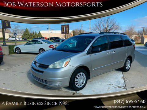 2005 Toyota Sienna for sale at Bob Waterson Motorsports in South Elgin IL