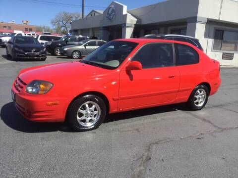 2005 Hyundai Accent for sale at Beutler Auto Sales in Clearfield UT